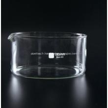Plat cristallisant avec bec