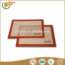 2015 Neue kundenspezifische wärmebeständige Silikon-Backmatten