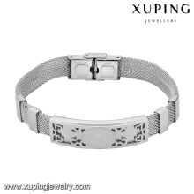 Armband-29-xuping Mode benutzerdefinierte Schmuck Stahl Jungen und Mädchen Freundschaftsbänder
