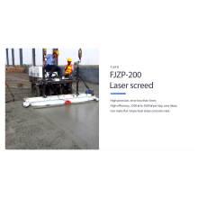 Machine de chape de laser de puissance concrète de mise à niveau automatique à vendre FJZP-200