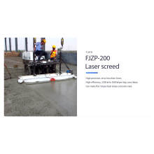 Self leveling concrete power laser screed machine for sale FJZP-200