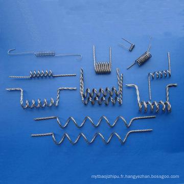 Filaments de tungstène échoués