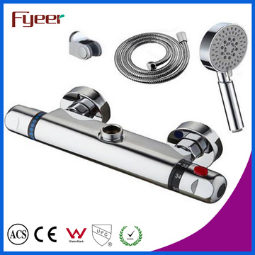 Fyeer Thermostatic Shower Faucet Mixer with Hand Shower Head