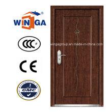 Ce para Europ Mdfveneer Puerta blindada de seguridad de madera de acero (W-A5)