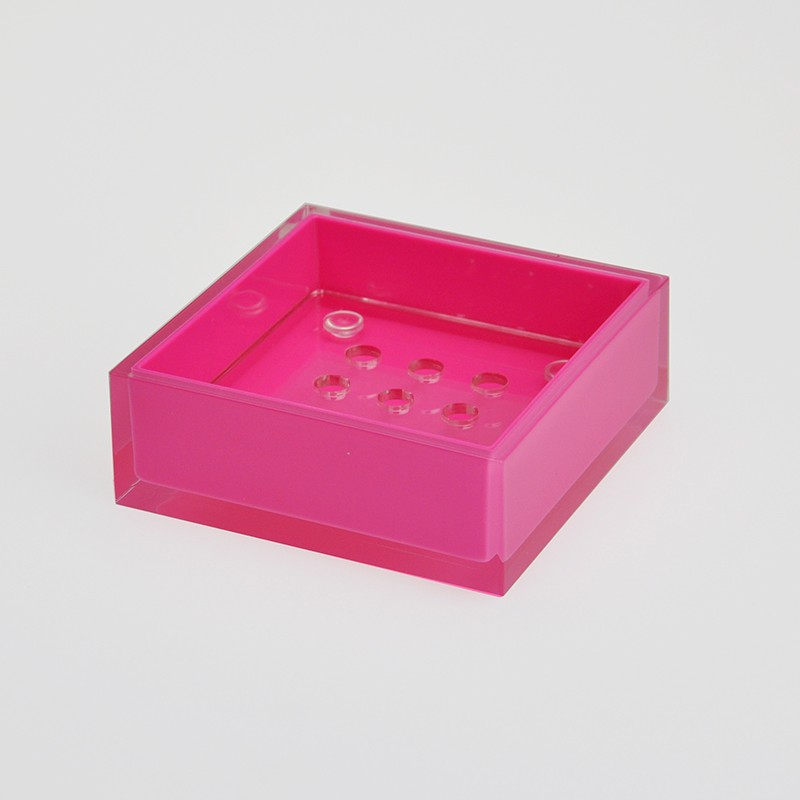 Stable Quality Square Conical Shape Soap Case