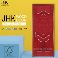 JHK Sliding Door Interior Half Doors Flat Wood Door Oak Veneer Interior Doors
