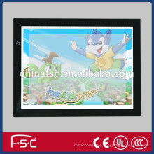 attractive acrylic panel led light tracing copy board for children