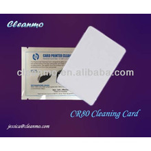 ATM/POS CR80 Cleaning Card,card reader cleaning card Pre-wet With Electric Class Ipa