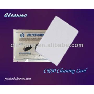Carte de nettoyage d'ATM / POS CR80, vente chaude