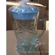 2016 Chine nouveaux pots en plastique de conception avec des tasses