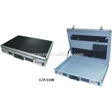 nueva moda fuerte & cartera de hombres de aluminio portátil de alta calidad de China fábrica