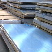 Plaque en aluminium 2017-T451