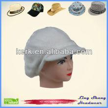 El sombrero vendedor caliente del pelo del conejo del llano del invierno y de las lanas hizo punto el sombrero, LSA38