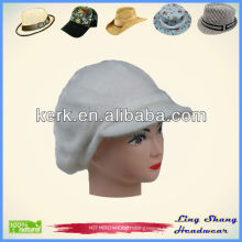 Hot Selling Winter Plain Rabbit Hair and Wool Hat knitted hat, LSA38