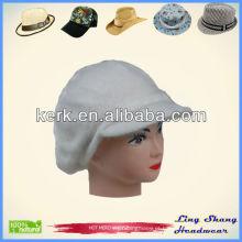 Hot vendendo inverno planície coelho cabelo e chapéu de lã chapéu de malha, LSA38