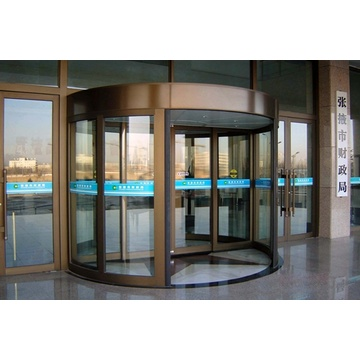 Safety  Sensor  for Automatic Revolving Doors