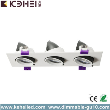 COB LED Downlights Recessed Floodlights 36W 4000K