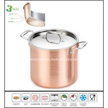 3 Ply Copper Clad Soup Pot