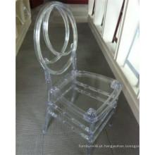 Cadeira de cristal plástica clara de Phoenix para o banquete