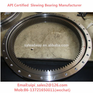 Anti-Friction slewing rim for wind energy