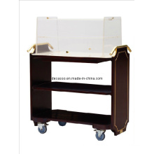Hotel Cooper Wood Biscuit Cart (DE28)