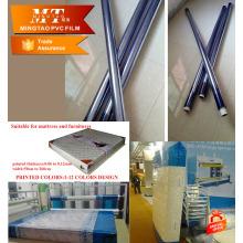 Película de embalaje de PVC transparente azul para película protectora
