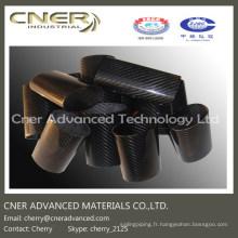 Fibre de carbone brillante / mate ronde / tube ovale / tube 3K Skype: cherry_2152 / WhatsApp (Mobile): + 86-13001506995