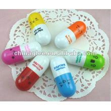 Caliente venta vitamina bolígrafo, bolígrafos promocionales por mayor