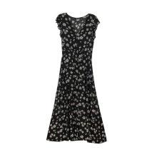Vestidos largos de manga corta para mujer Vestidos largos casuales