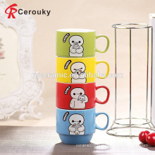 Petite tasse à cappuccino en céramique promotionnelle à bas prix