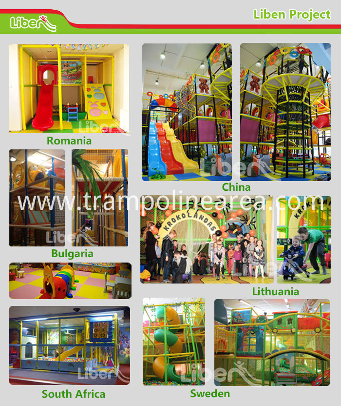 Projects of indoor playground equipment