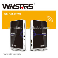 Wireless 5G HDMI AV transmissor e receptor Kit (WHDI), CE, FCC