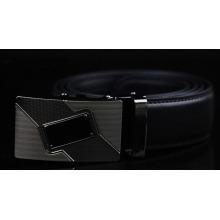 Formal mens genuine luxury leather belt