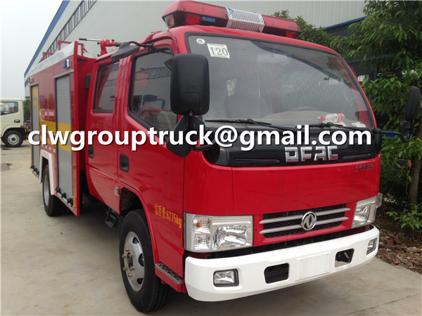 Fire Fighting Water Pump Truck
