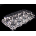 Supermarket Clear Blister Plastic Box for Eggs (PVC egg tray)