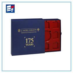 Paper chocolate gift drawer box