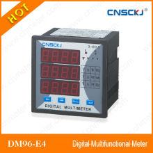 DM96-E4 трехфазный многофункциональный цифровой измеритель