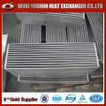 Venta caliente Personalizada de la aleta y tipo de barra de Intercooler Core