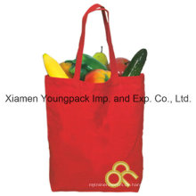 Mehrzweck-kundenspezifische rote Baumwollsegeltuch-Tuch-Einkaufstasche