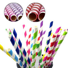 Kraft paper food 100% paper straw manufacturer,biodegradable drinking paper straw