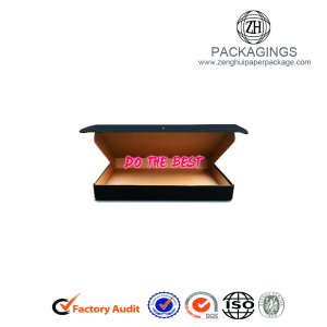 Custom logo print paper apparel packaging box
