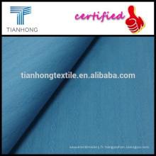 100 % coton tissage tissu/spandex dobby tissu /summer vêtement tissu plat