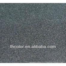 Revestimento em pó de textura de areia preta