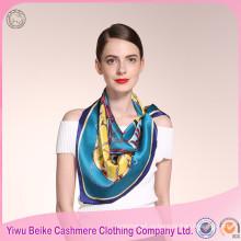Новый модный продукт зимний стиль женщин печать шелковый шарф