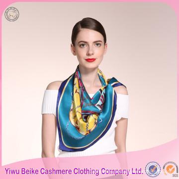 Las mujeres de invierno del nuevo estilo de moda del producto imprimen la bufanda de seda
