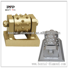 Bush hammer tools-Diamond bush hammer for litchi surface