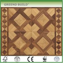 Selecciones de estilo de color plano natural de alta calidad Piso de madera de parquet diseñado