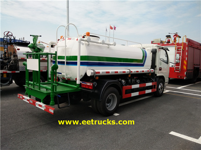 1800L Water Tanker Vehicles
