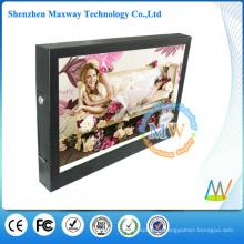 HD 1080P 15 pulgadas LCD publicidad supermercado estante interior pantalla de señalización digital