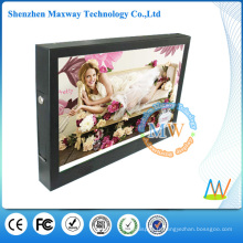 affichage fiable d'affichage à cristaux liquides d'instantané de modèle de 15 pouces pour la promotion de publicité